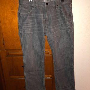 Express Slim Straight Jeans